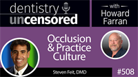 508 Occlusion and Practice Culture with Steven Feit : Dentistry Uncensored with Howard Farran