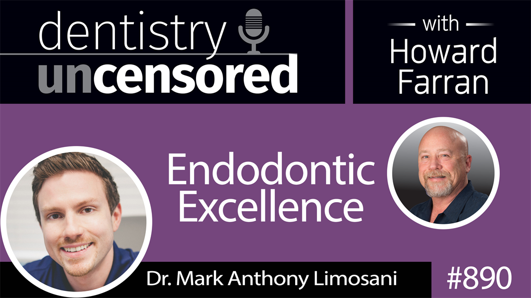 890 Endodontic Excellence with Mark A. Limosani, DMD : Dentistry Uncensored with Howard Farran