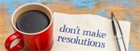 Dental Resolutions; And a Naggy New Year to You, Too