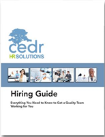 Free Download For Practice Owners: CEDR's Hiring Guide