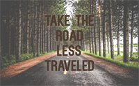 THE ROAD LESS TRAVELED