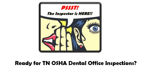 PSSST!!  The OSHA Inpector is here...