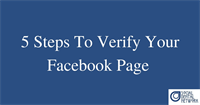 4 Reasons Dentists Should Verify Their Facebook Page...& 5 Easy Steps On How To Do It