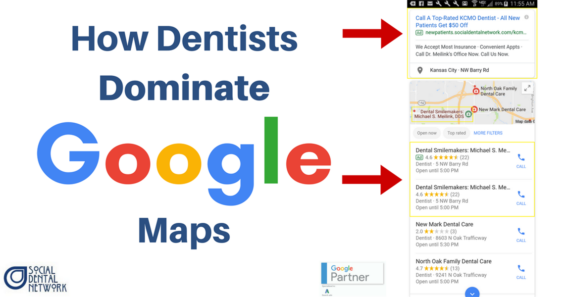 5 Steps for Dentists to Dominate Google Maps