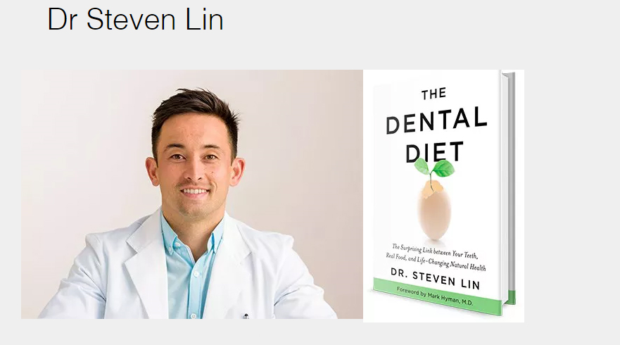 Dr. Stephen Lin discusses The Dental Diet