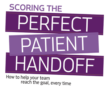 Scoring the Perfect Patient Handoff Hygienist Emily Miller-Lehr gives you and your team tips on how to avoid fumbling this all-important step in the patient experience.