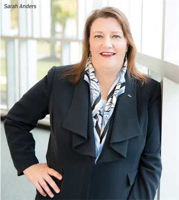 Women in Dentistry: In the Vanguard:  A Q&A with Ivoclar Vivadent's Sarah Anders Sarah Anders, Ivoclar Vivadent's recently promoted chief operating officer and senior vice president of North American sales, talks about success, ambition, and the memory that makes her smile.