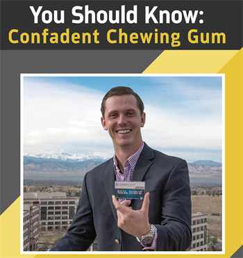 You Should Know Confadent Chewing Gum