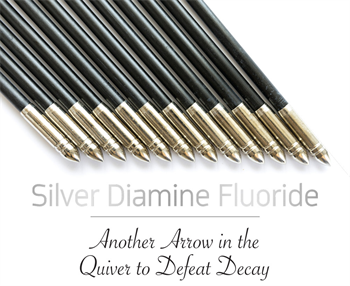 CE: Silver Diamine Fluoride: Another Arrow in the Quiver to Defeat Decay Educators Judy Bendit and Patti DiGangi discuss how silver diamine fluoride can stop tooth decay in its tracks.