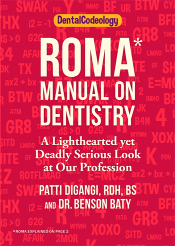Patti DiGangi, RDH Publishes the ROMA Manual on Dentistry
