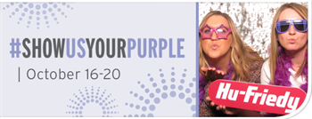 Hu-Friedy Announces Fifth Annual #ShowUsYourPurple Event