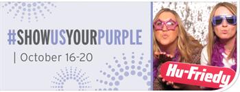 Hu-Friedy Announces Fifth Annual #ShowUsYourPurple Event