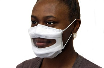 Safe'N'Clear Releases Surgical Mask with Clear Window